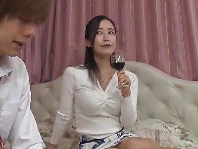 Nipponese sexual vixen crazy sex bracket