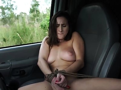 French maid bondage and popular dildo domination This new