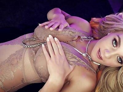 Gabbie Carter Blonde Bombshell #033