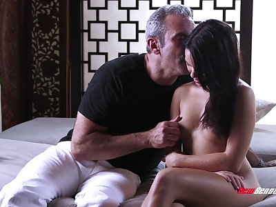 Reduce to nothing young knockout with perky ninnies coupled with selfish pussy