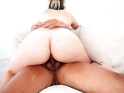 Big Breast Asian-Latina Teen With Perfect Tight Pussy Rides Your Cock. She Couldn't Depend To Jump Your Cock.